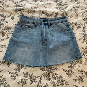 The Fifth Label denim mini skirt